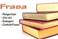 Contoh Frasa Koordinatif Sekolahan Co Id