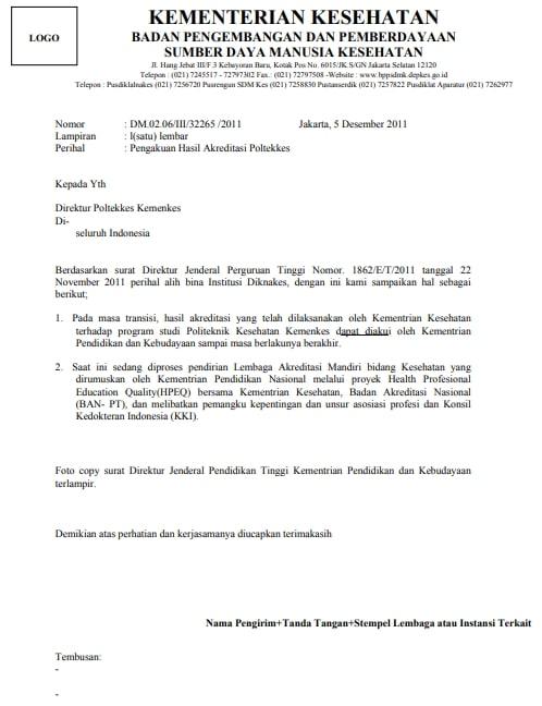 Surat Dinas Pengertian Syarat Ciri Fungsi Struktur